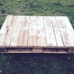 DIY Pallet Coffee Table with Heart Inlay