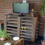 DIY Pallet Media Stand – Rustic Style