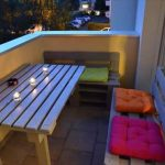 DIY Pallet Balcony Furniture