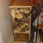 Pallet Firewood Storage Box