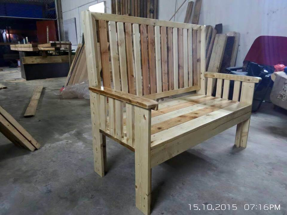 bench made from pallets - 28 images - garden bench made