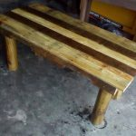 Rustic Coffee Table Made from Pallets