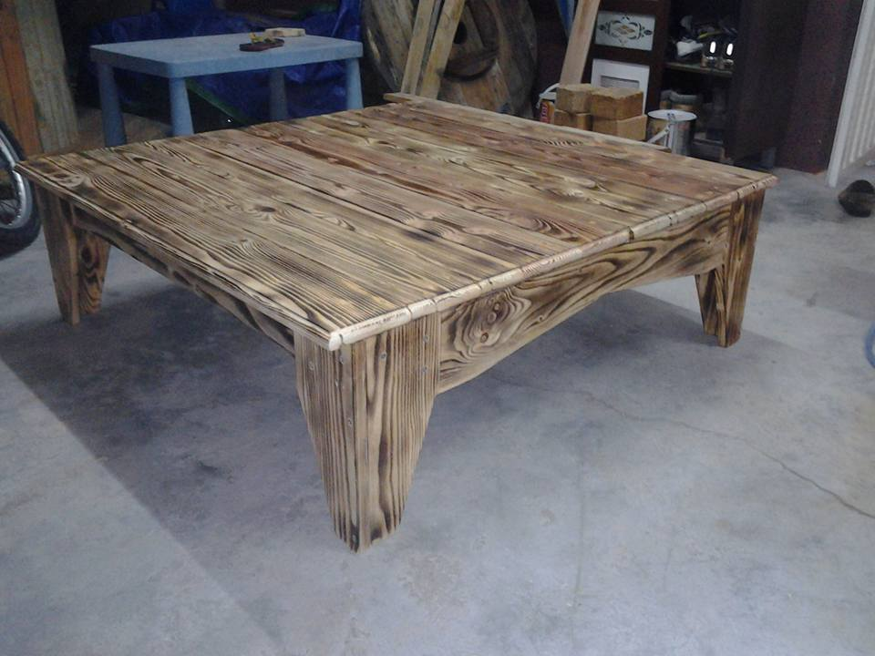 Wood Pallet Coffee Table Rustic 99 Pallets