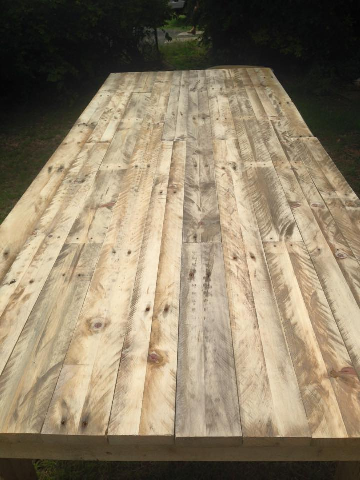 Large Pallet Dining Table