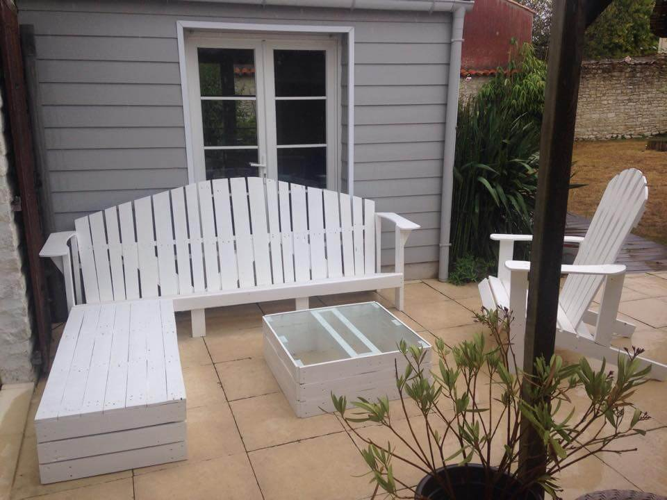 Pallet Outdoor Seating | 99 Pallets