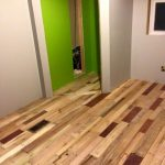 Pallet Flooring : Easy to Build at no Cost