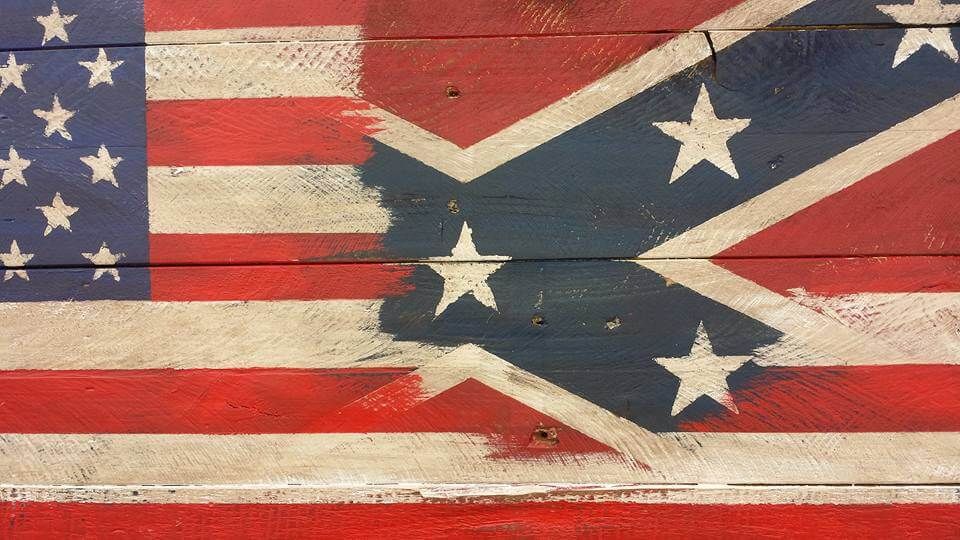 Pallet American Flag Wall Art