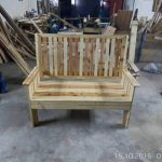 Garden Bench Made from Pallets