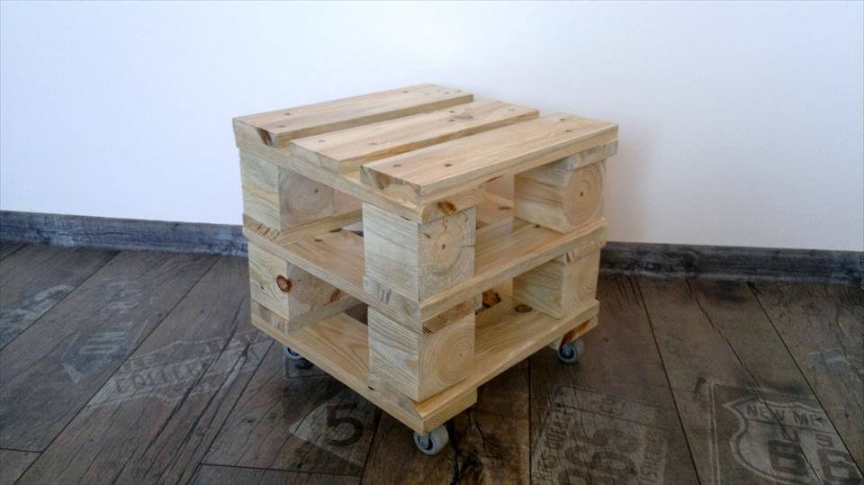 Ottoman Made From Pallets 99