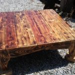 Wood Pallet Coffee Table – Rustic