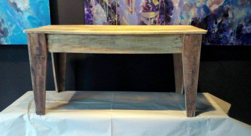 UP-cycled pallet rustic coffee table