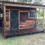 DIY Pallet Shed – Pallet Outdoor Cabin Plans