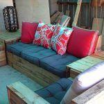 DIY Pallet Sofa Set