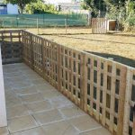Pallet Fence – Exterior Pallet-Made Barrier