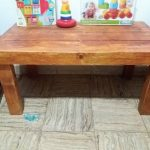 Kids Pallet Table and Toy Chest
