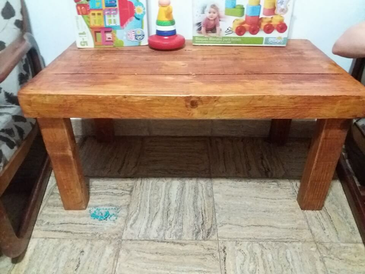 pallet kid's table