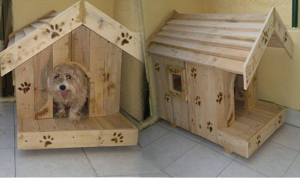 Diy Pallet Dog House Plans