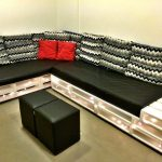 Elegant Pallet Sectional Sofa