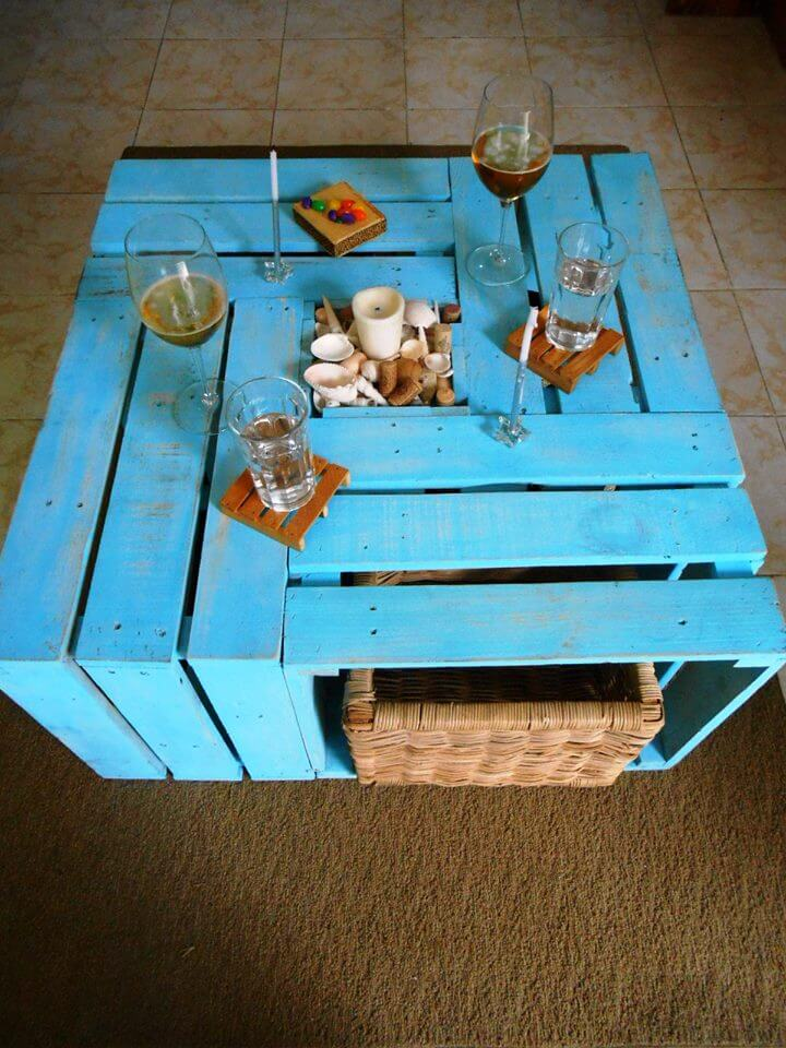 diy Palle multi functional coffee table