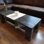 EPAL Pallet Black Coffee Table