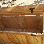 Wooden Pallet Chest / Trunk