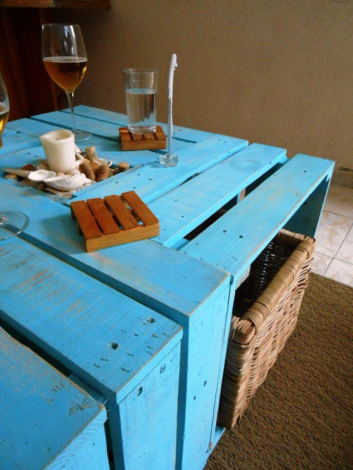 Recycled Pallet multi functional coffee table