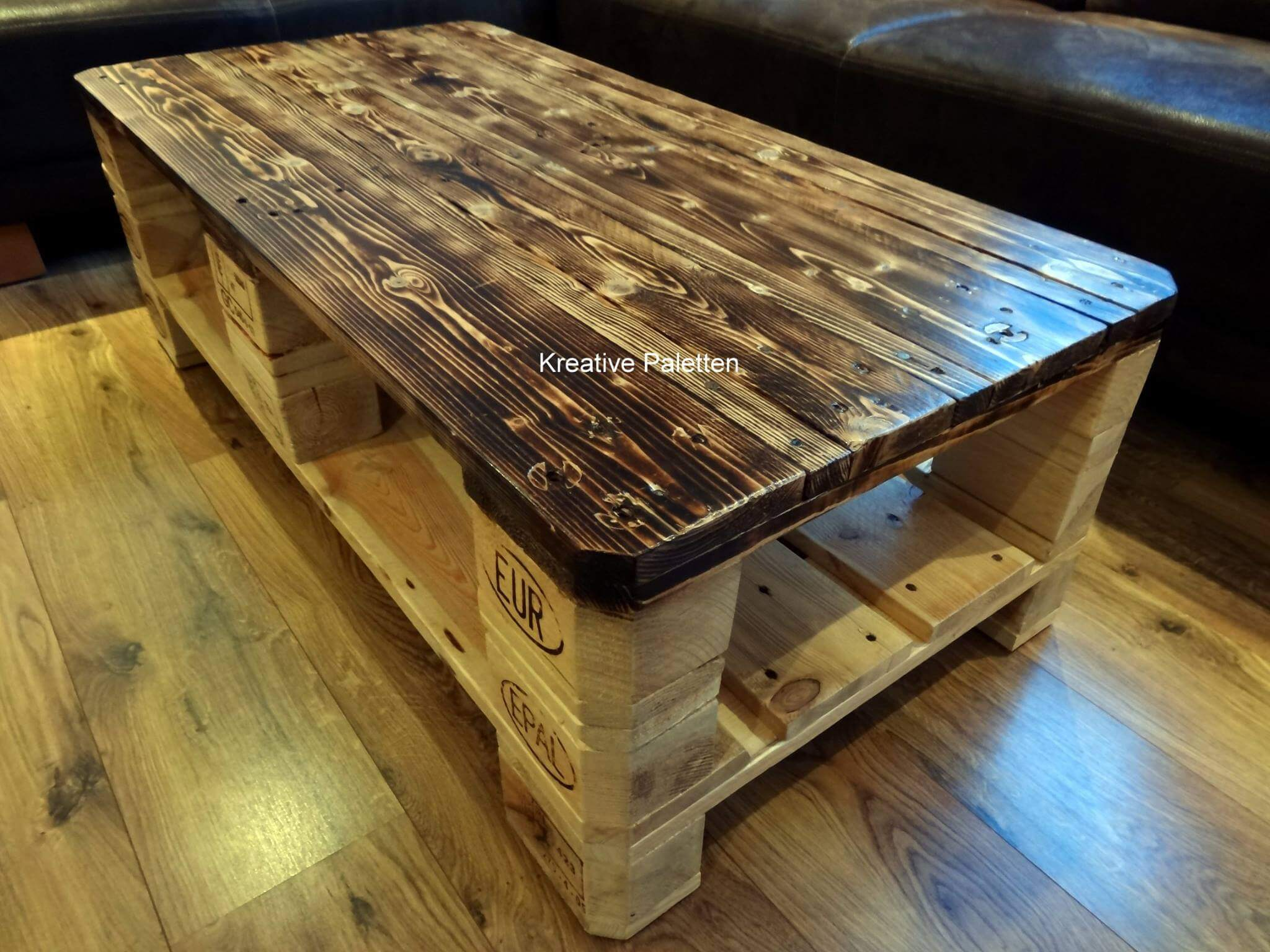Euro pallet wood coffee table 99 pallets recycled pallet coffee table geotapseo Gallery