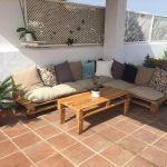 Build Pallet Outdoor Furniture Set