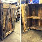 Pallet Bottle Cabinet / Pallet Cupboard