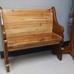 Wooden Pallet Bench Design