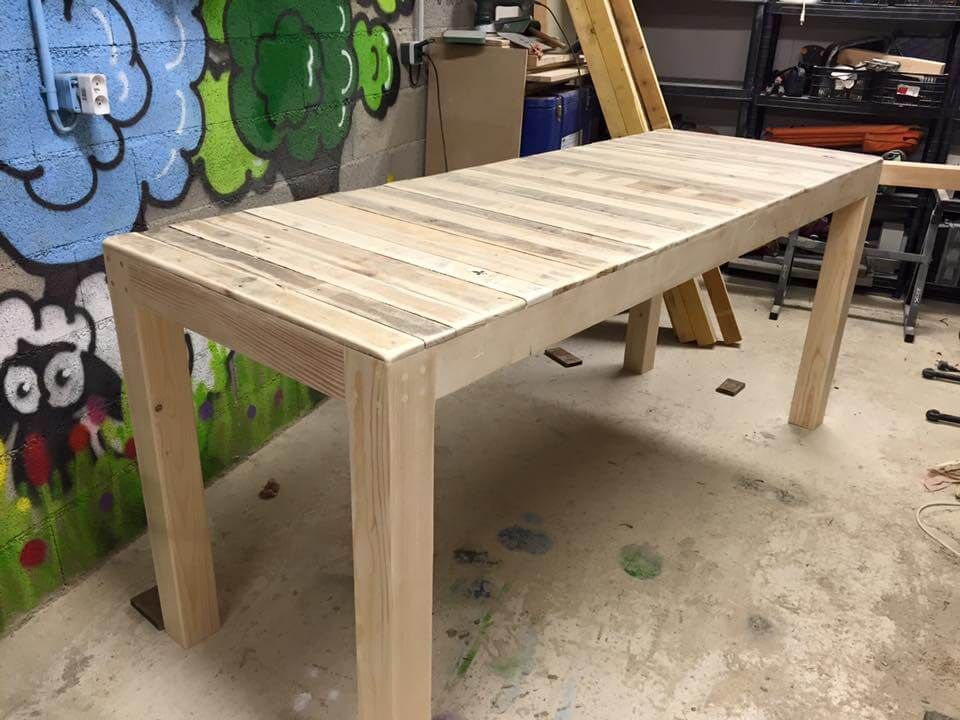 pallet multi functional table