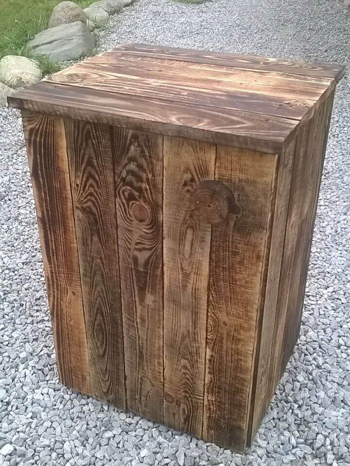 mini pallet table