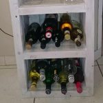 Pallet Beverage Bottle Rack