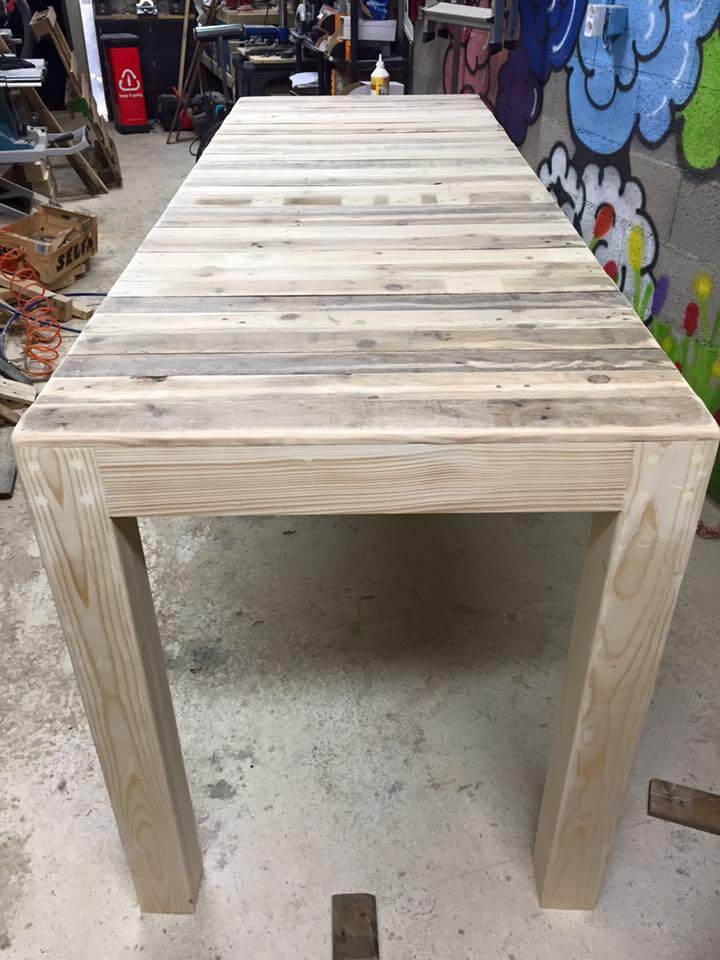 diy pallet multi functional table