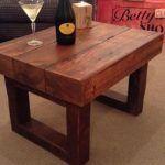 Unique Wood Pallet Coffee Table