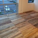 Recycled Pallet Flooring – DIY