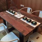 Pallet Hard Wood Dining Table