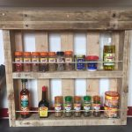 Multipurpose Pallet Shelves Design