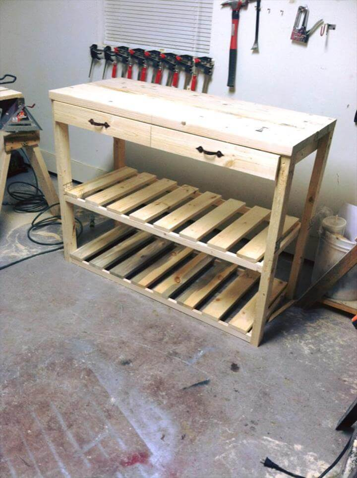 Kitchen Island Made With Pallets kitchen island made from pallets | 99 pallets