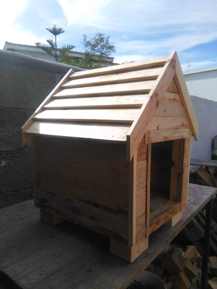 Build A Dog House From Pallets 99