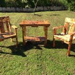 Pallet Garden Seating Furniture Set