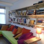 Wooden Pallet Bookcase Designs