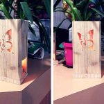 DIY Pallet Butterfly Light Lamp / Gift