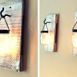 DIY Pallets and Mason jar Lamps