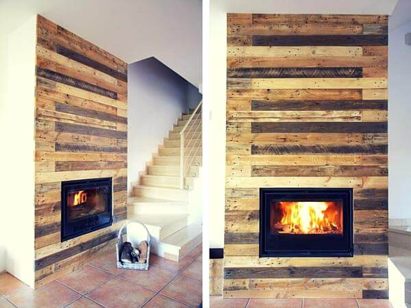 Pallet Wall Surrounding