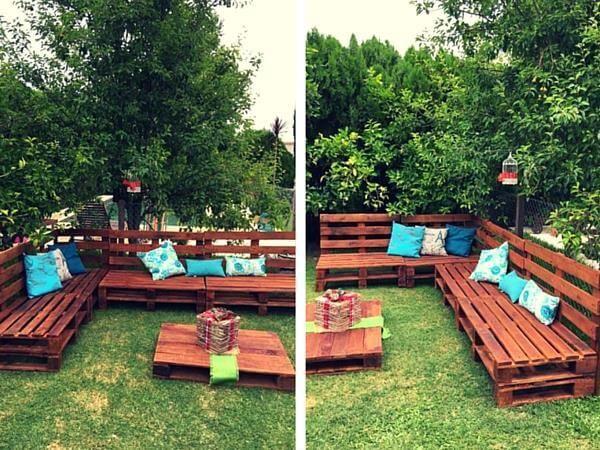 Pallet Outdoro Furniture