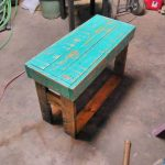 Wooden Pallet Bench or Table