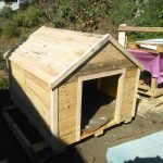 Pallets Wood Dog House