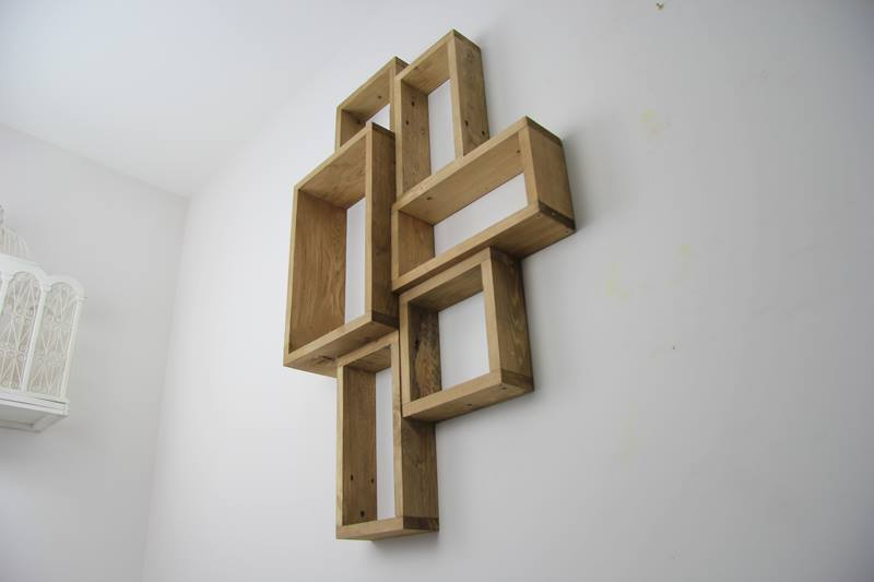 Wall Hanging Shelves Diy : Creative pallet wall shelves unit pallets