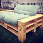 Pallet Garden Sofa Set
